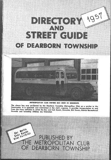 OF DEARBORN TOWNSHIP I 1 - E-Gov Link