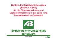 Referat - Sozialversicherungssystem LW