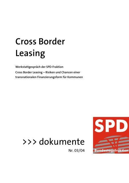 Cross Border Leasing >>> dokumente - Cross-Border Wuppertal