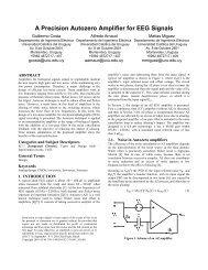A Precision Autozero Amplifier for EEG Signals - Departamento de ...