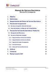 Manual Proveedor Factura Electrónica Mercaderías - GS1 México