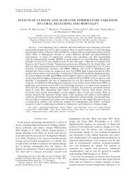Effects of climate and seawater temperature variat... - denix