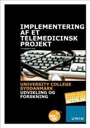 Implementering af telemedicin - Lev Vel