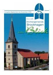 Ev.-luth. Kirchengemeinde Brockhagen