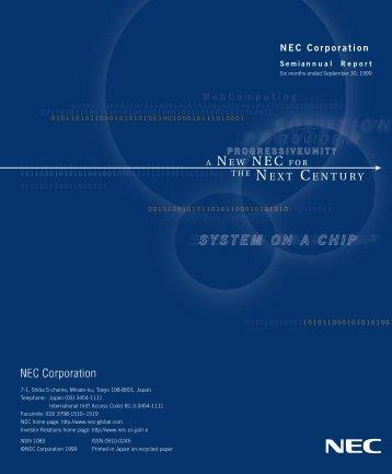 NEC SAR99-New