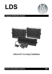 Infrared Covering Guidelines - DIS