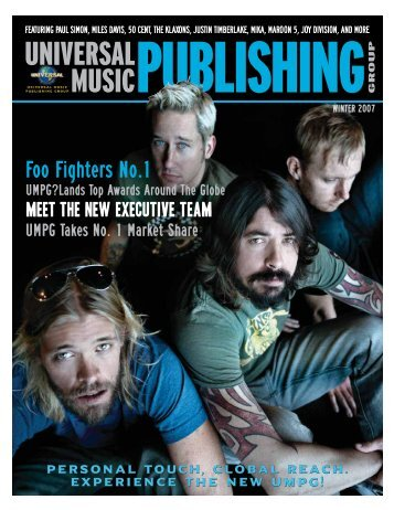 Foo Fighters No - Universal Music Publishing