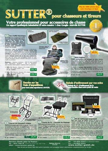 Télécharger ou imprimer catalogue comme PDF - Sutter GmbH