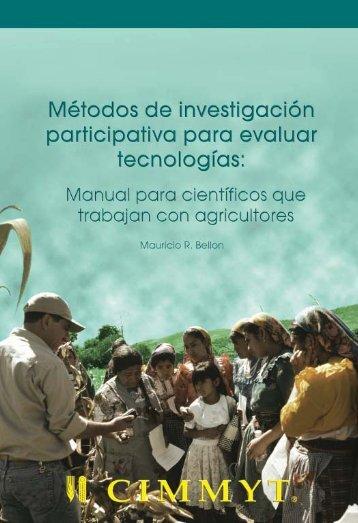 Manual para científicos que trabajan con agricultores - Search ...