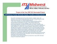 Project Fact Sheet - ITS Midwest
