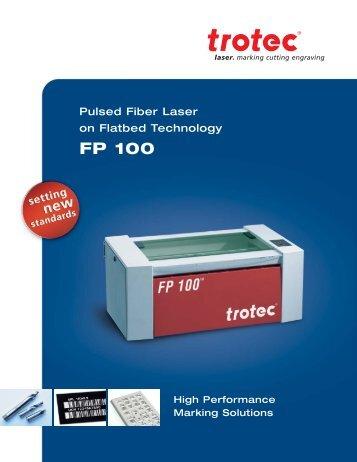 FP 100 - Trotec Laser