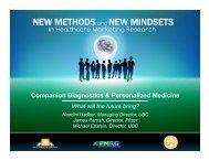 Companion Diagnostics & Personalized Medicine - PMRG