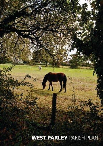 WEST PARLEY PARISH PLAN - East Dorset Community Partnership