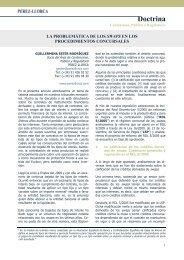 Doctrina - Pérez-Llorca