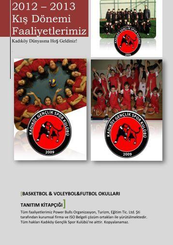 Basketbol & voleybol&futbol okulları tanıtım kitapçığı - Kadıköy ...