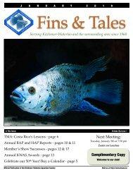 January 2010 - Kitchener Waterloo Aquarium Society