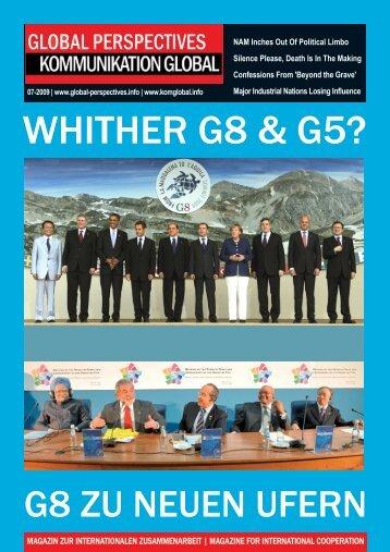 GLOBAL PERSPECTIVES | KOMMUNIKATION GLOBAL - 07 | 2009