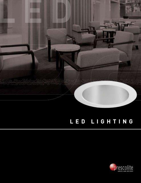 LED Brochure - Prescolite