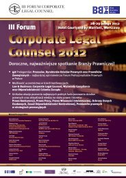 III Forum Corporate Legal Counsel - Blue Business Media