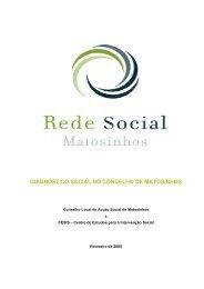 diagnóstico social do concelho de matosinhos - Câmara Municipal ...