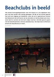Beachclubs in beeld - Van Spronsen en Partners