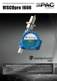 VISCOpro 1600 - sicamedicion.com.mx