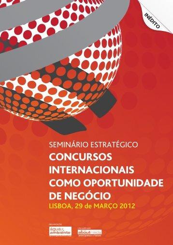 Brochura | Concursos Internacionais como Oportunidade de Negócio