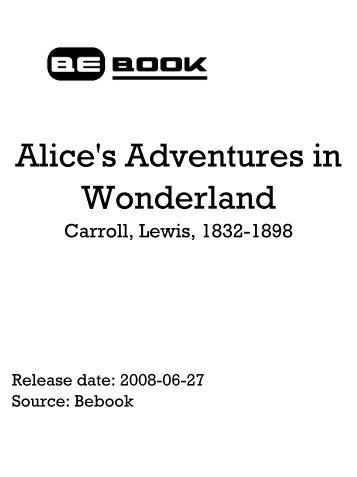 Alice's Adventures In Wonderland - Carroll Lewis.pdf