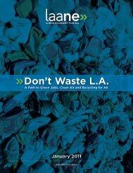 Full Report - Don't Waste LA