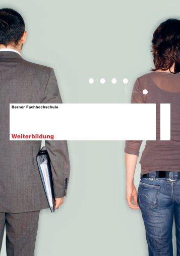 Weiterbildung - Berner Fachhochschule Technik und Informatik
