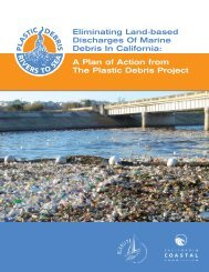 Eliminating Land-based Discharges Of Marine Debris In California ...