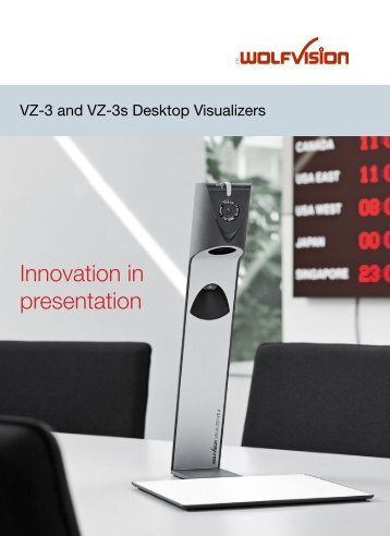 Innovation in presentation - WolfVision
