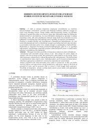 hibridni sistemi obnovljivih izvora energije hybrid system of ... - Infoteh