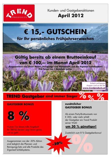 . 15 - GUTSCHEIN