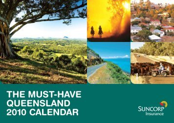 THE MUST-HAVE QUEENSLAND 2010 CALENDAR