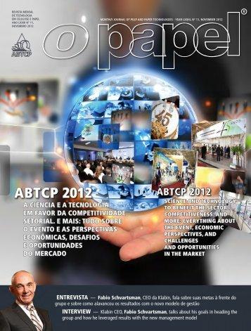 ABTCP 2012 - Revista O Papel