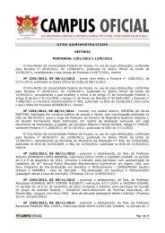 Atos Administrativos 05.12.2012 - DTI- Diretoria de Tecnologia da ...