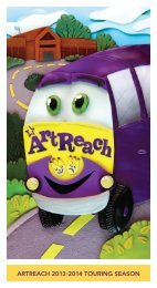 to download a 13-14 ArtReach season brochure. - The Children's ...