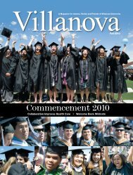 Commencement 2010 - Villanova University