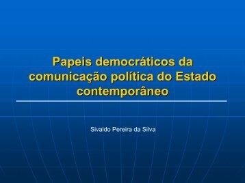 Papeis democraticos na comunicacao do Estado - 2i2p