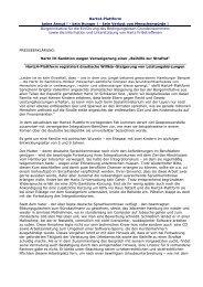 Hartz IV-Sanktion wegen Verweigerung einer ... - Hartz4-Plattform
