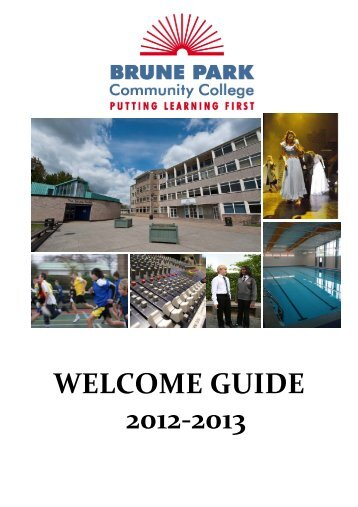 Year 6 Transition Welcome Guide 2012 PDF - Brune Park ...