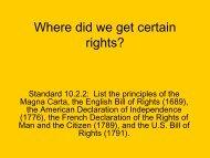 Enlightenment Documents