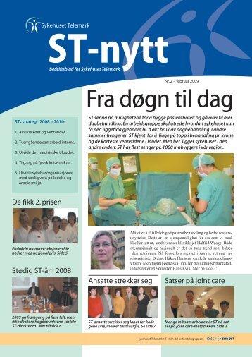 ST-nytt nr. 2, 2009 - Sykehuset Telemark