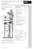 Descriere Sisteme Hoval de evacuare pentru gaze arse DN 80 ... - Page 2