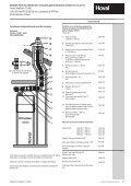 Descriere Sisteme Hoval de evacuare pentru gaze arse DN 80 ... - Page 5