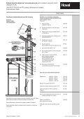 Descriere Sisteme Hoval de evacuare pentru gaze arse DN 80 ... - Page 7