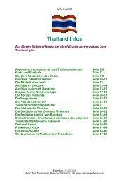 Thailand Infos