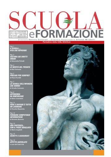 eFORMAZIONE - CISL Scuola