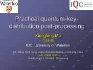 Practical quantum-key- distribution post-processing